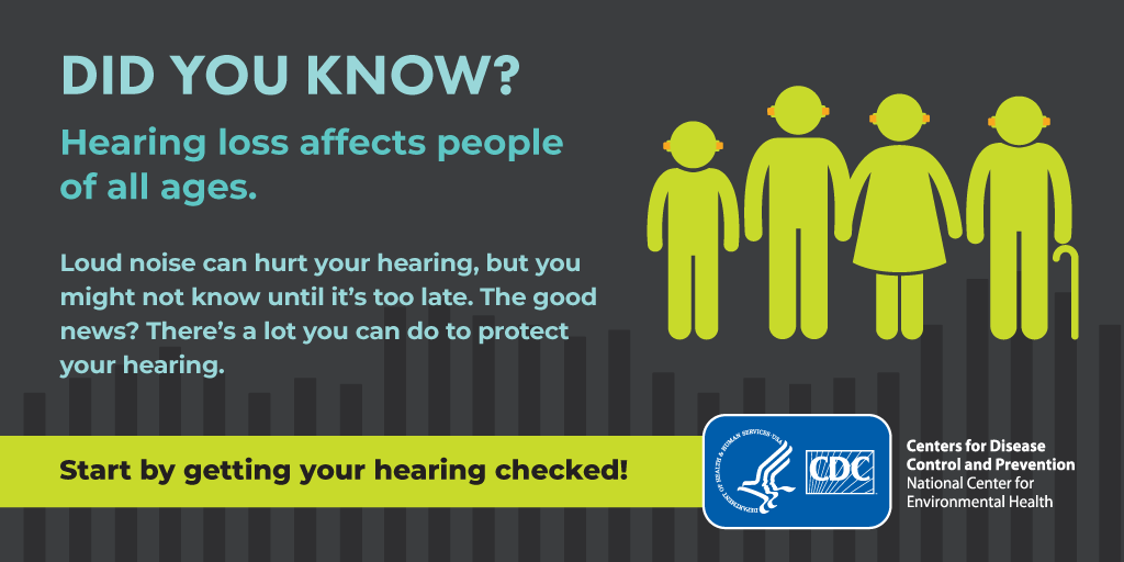 Start By Getting Your Hearing Checked!