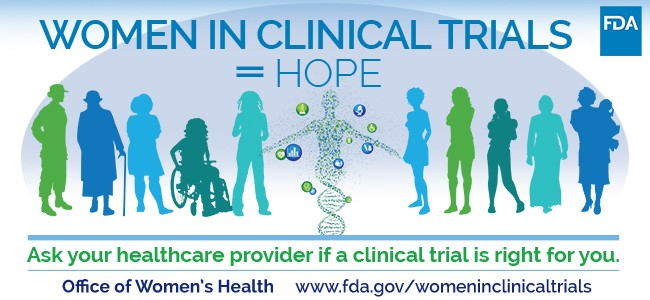 Women In Clinical Trials = Hope