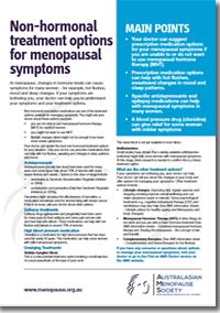 Hormone Therapy Alternatives Snapshot