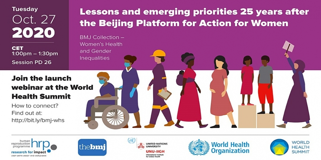 WHS 2020: BMJ Collection – Women's Health and Gender Inequalities